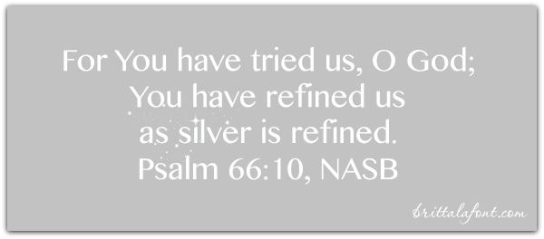 Refining, silver, worthy, holiness