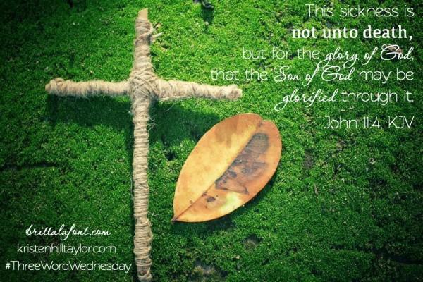 Not Unto Death