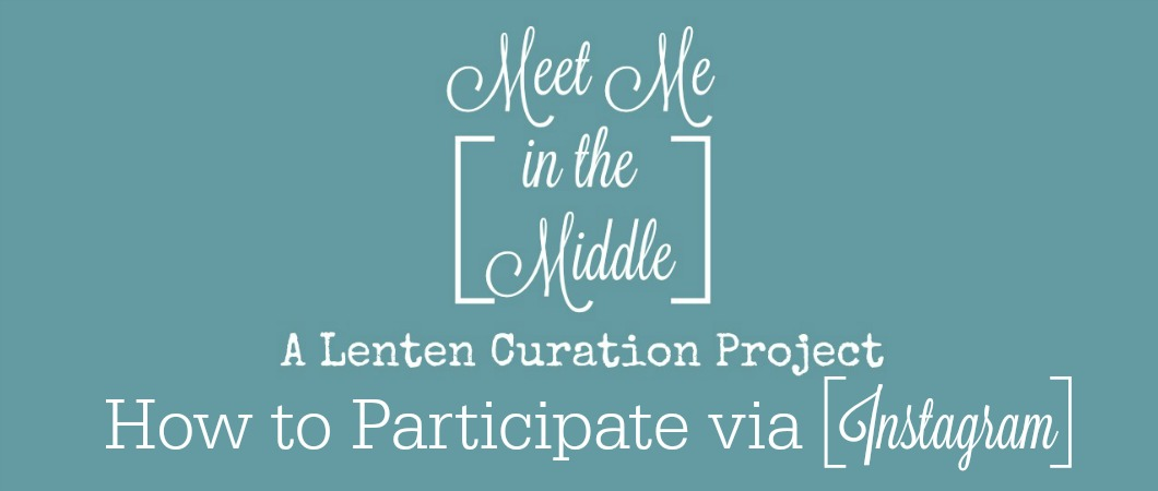 This post shares a few how-to videos for anyone who wants to participate in the Meet Me in the Middle Project via Instagram, but is unsure of how to make the collage or join the link-up with a Permalink.