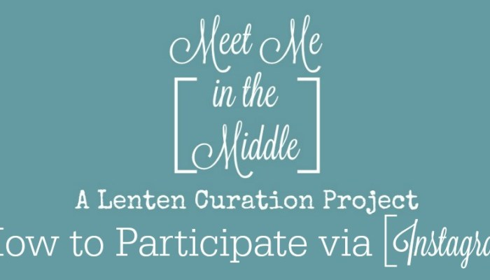 Meet Me in the Middle Project (the Instagram How to)