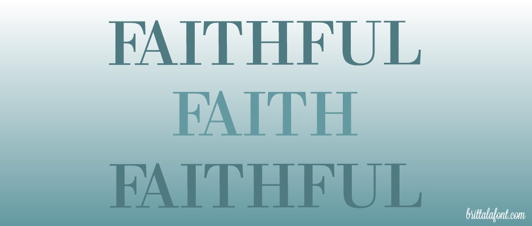 meaning of faithfulness