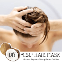 "DIY ""CSL"" Hair Mask :: It's All About the Hair"