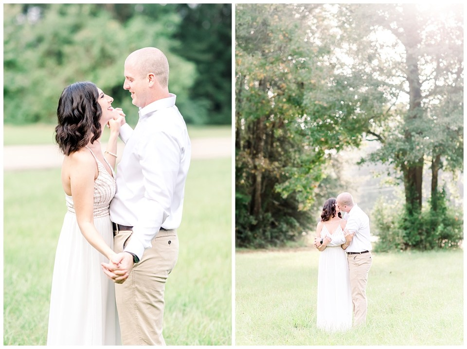 bright and airy couples portraits