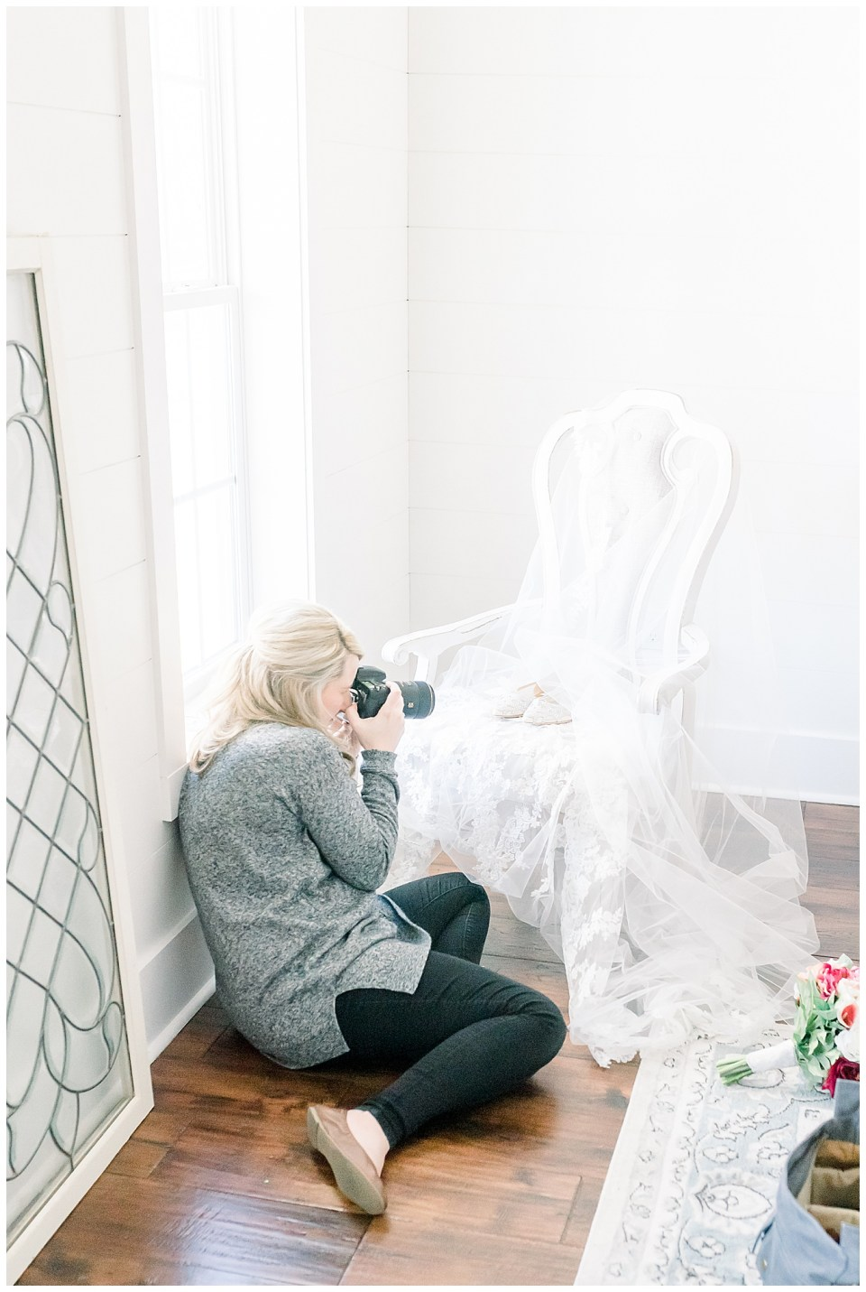 brittany bruce shooting bridal details on a wedding day