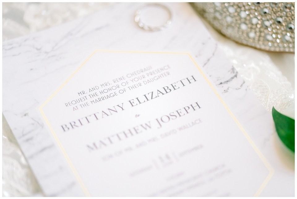 wedding invitations for a baton rouge wedding