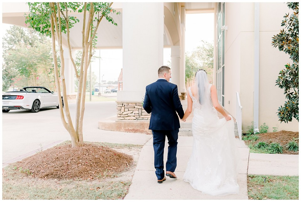 denham springs wedding ceremony portraits