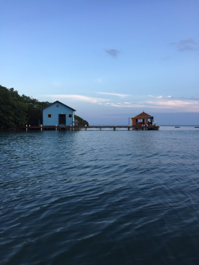 We took a boat to this restaurant on a dock called Tranquillo- the next day we even kayaked there!