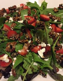 Stolen Salads: Strawberry-Pecan (September 7, 2017)
