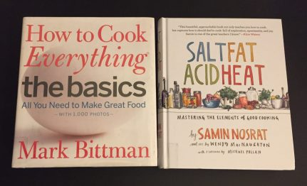 Two Great Books for First-Time Cooks (December 3, 2017)