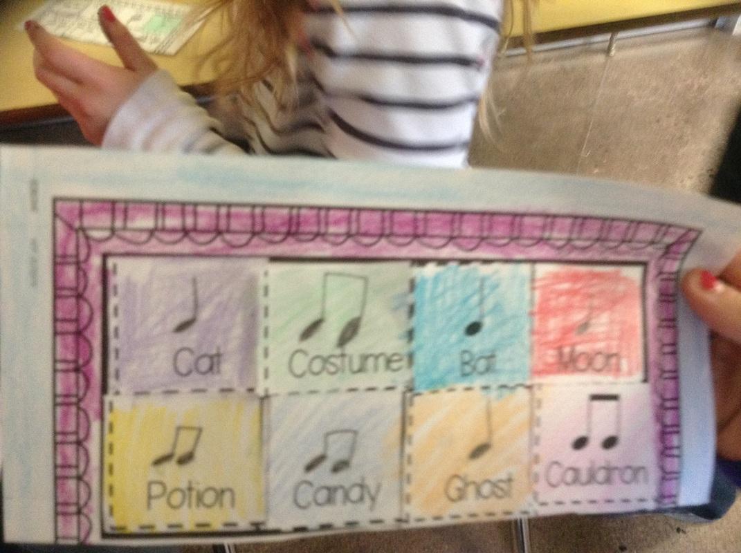 Rhythm Composition Worksheet