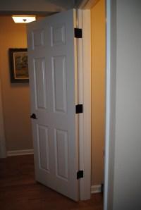 Replacing Door Knobs & HingesThe Easy Way! | going home