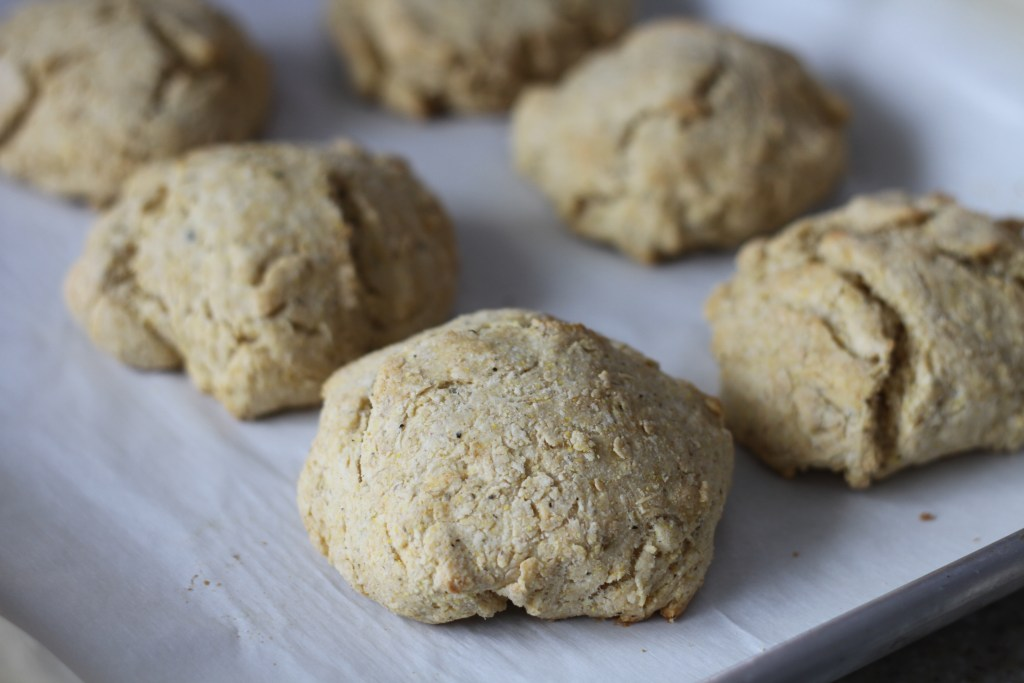 Quick Dipping Drop Biscuits   Brittany's Pantry - The perfect bread to whip up when you need something to go with dinner!