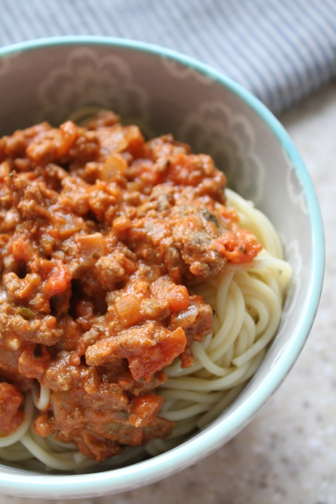 Zesty Bolognese Pasta Sauce | Brittany's Pantry