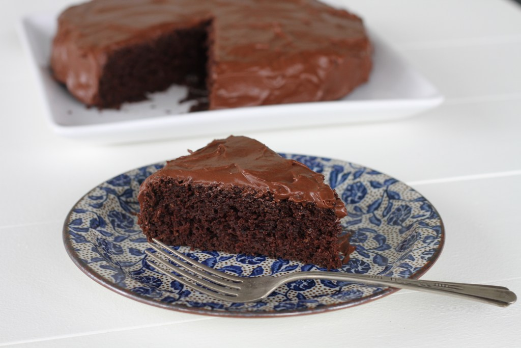 Healthy One-Bowl Chocolate Cake | Brittany's Pantry