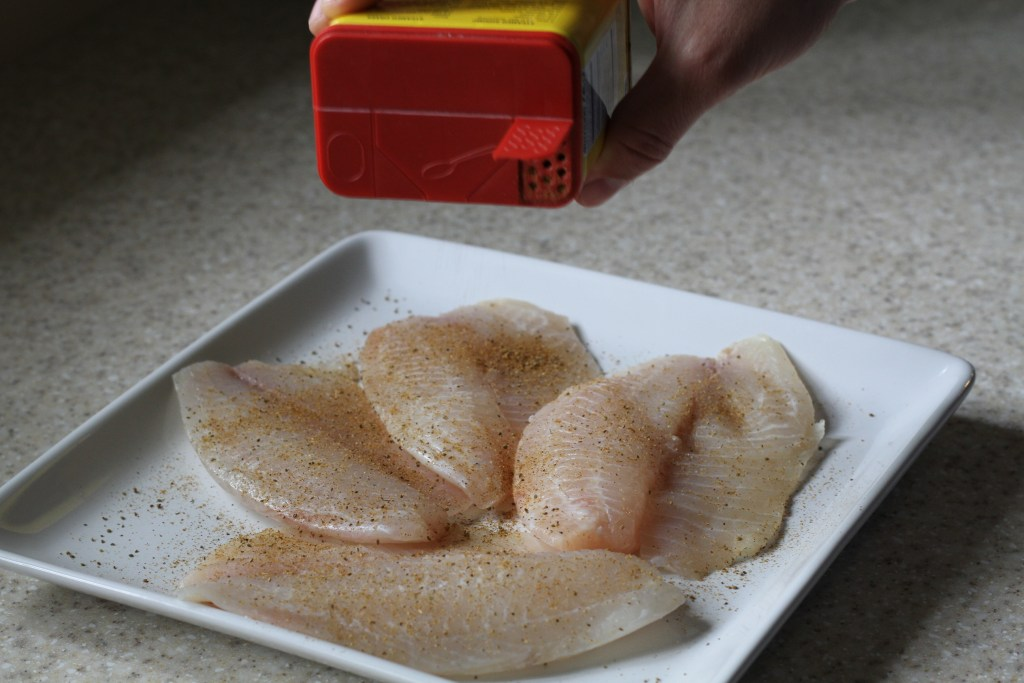 Quick Pan-Fried Tilapia   Brittany's Pantry