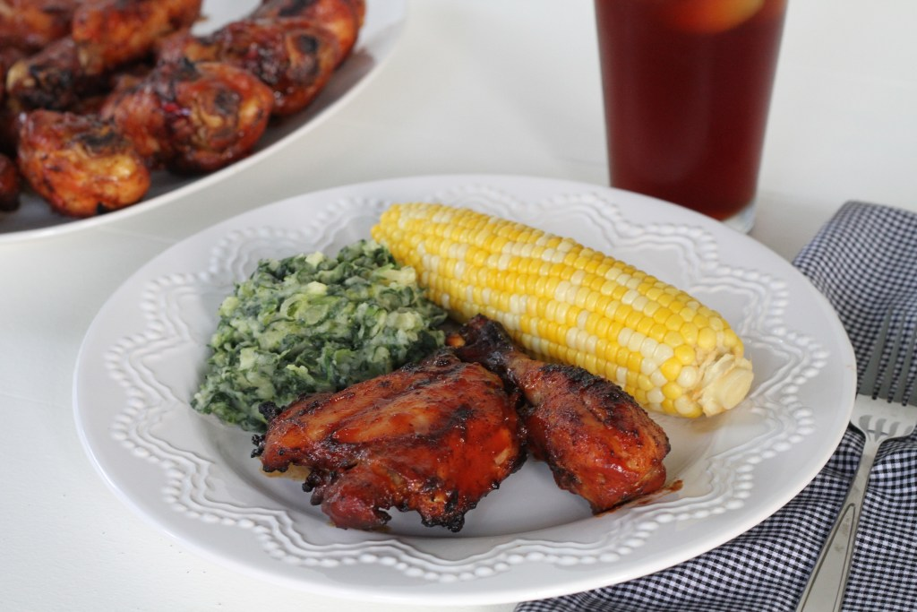 The BEST Barbecue Chicken via Brittany's Pantry