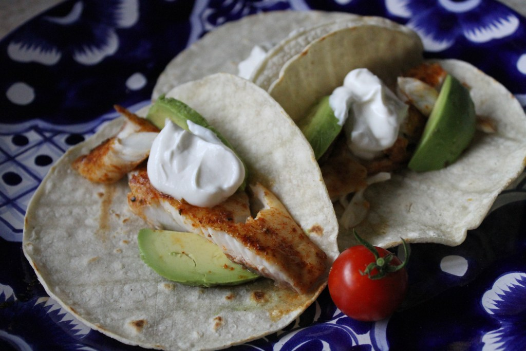 Baja Fish Tacos couldn't be easier! {Brittany's Pantry}