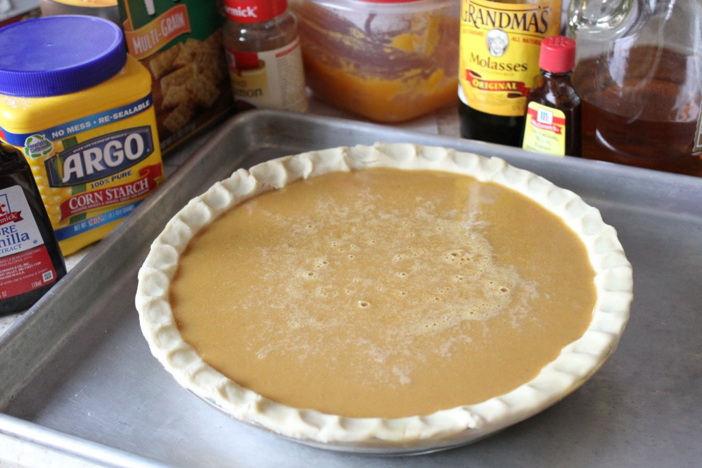 Rum Pumpkin Pie.  Its a thing, and its as good as it sounds. {Brittany's Pantry}