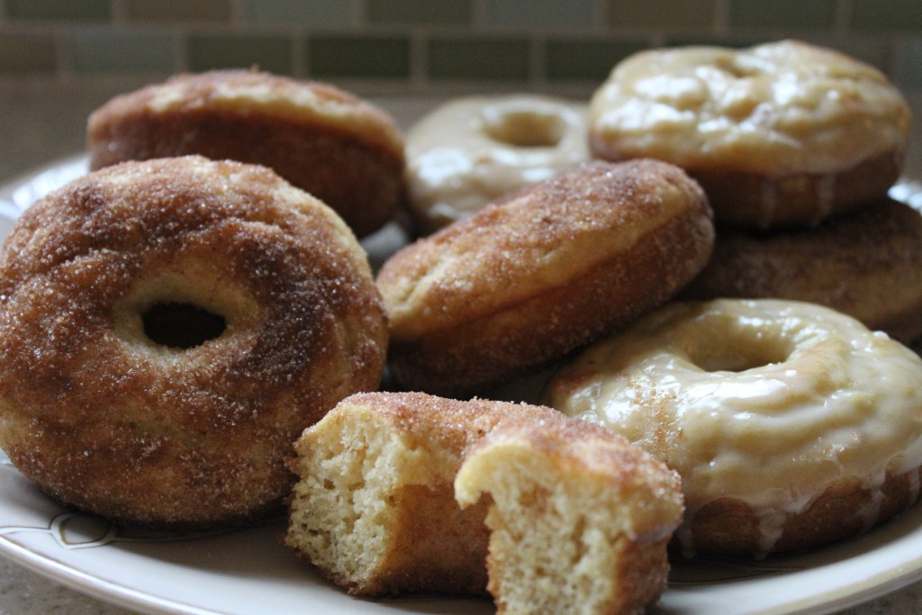 Simple & Classic Baked Doughnuts can be on your table in a matter of minutes! {Brittany's Pantry}