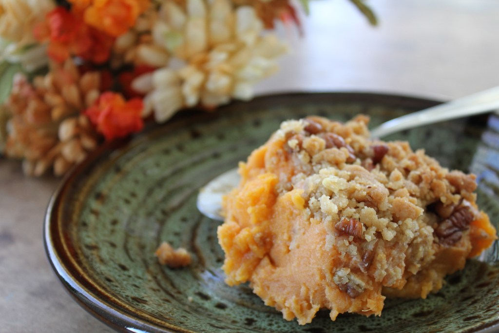 A traditional southern recipe by a traditional, southern woman. Granny's Sweet Potato Casserole is the real deal. {Brittany's Pantry}