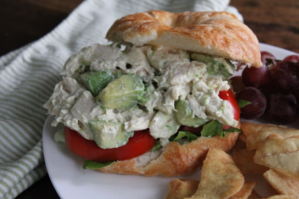 Tangy Avocado Chicken Salad