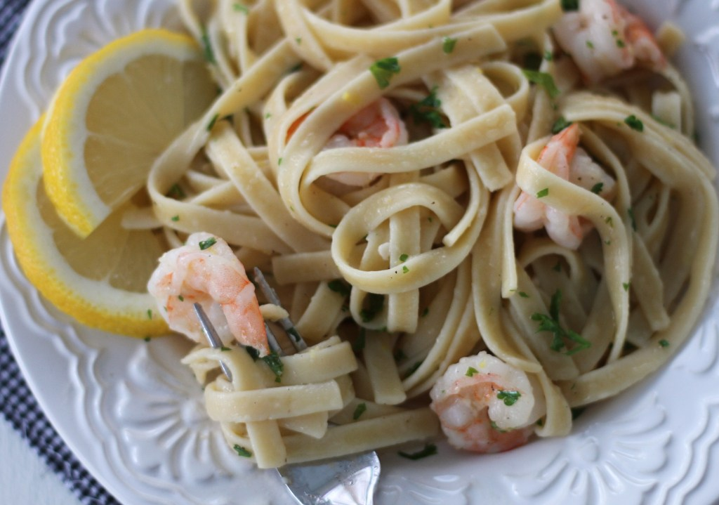 Lemon & Shrimp Pasta