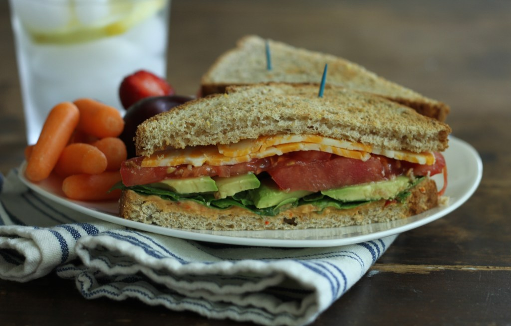 Loaded Roasted Pepper Sandwich