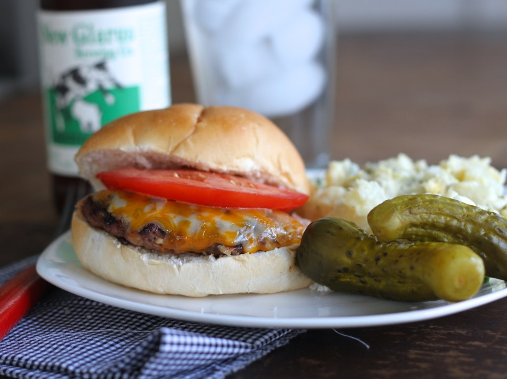 Grilled Venison Burgers