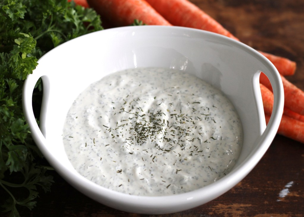 Homemade Herb Mix for Veggie Dip {Brittany's Pantry}