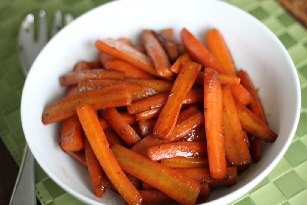 Pomegranate Glazed Carrots | Brittany's Pantry