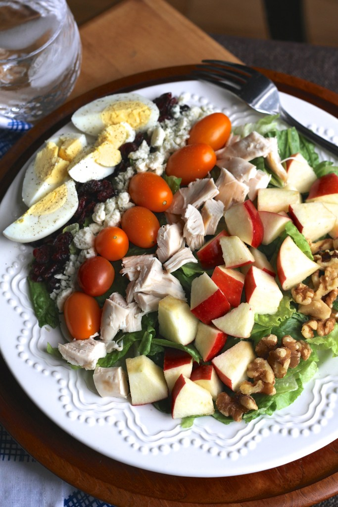 Carolina Cobb Salad is so full of flavor you don't even need to add a salad dressing! {Brittany's Pantry}