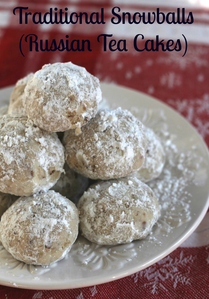 These Traditional Snowballs (Russian Tea Cakes) are the real deal. Melt in your mouth and wonderfully light, this version is the best of the best.