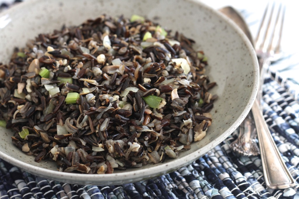 This easy Wild Rice is a family original we have been enjoying for years! So much flavor! {Brittany's Pantry}