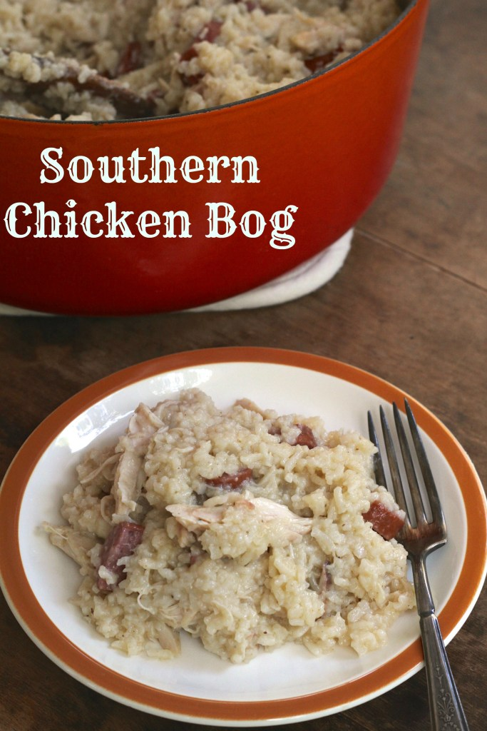A Southern classic! Easy Chicken Bog will become a year round favorite! {Brittany's Pantry}