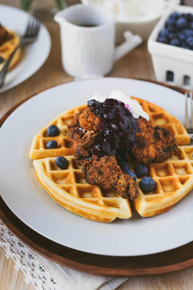 Syrup Sensations: Chicken & Buttermilk Waffles with