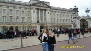 Amanda and I at Buckingham Palace