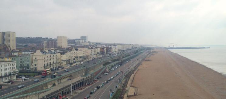 Brighton from the Wheel