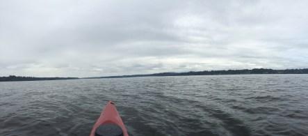 kayaking the Puget Sound