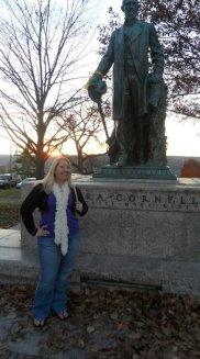 me with Ezra Cornell