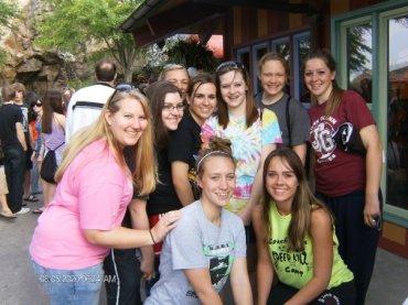 group at the Animal Kingdom