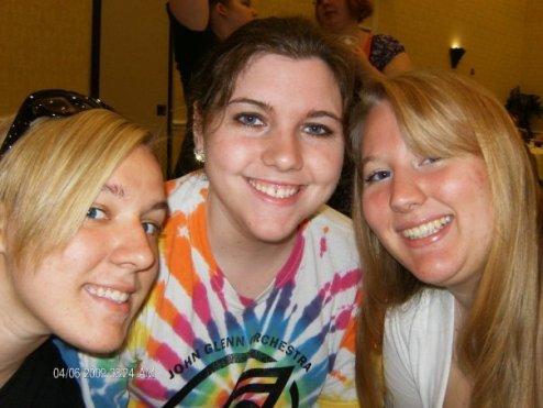 Sam, Taylor, and I