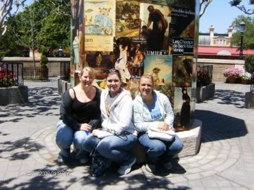 Taylor, Sam, and I in France