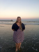 me at Cherry Grove Beach