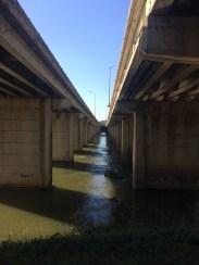 I-126 overpasses