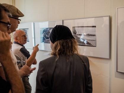 Jens Tandler im Gespräch mit Besuchern