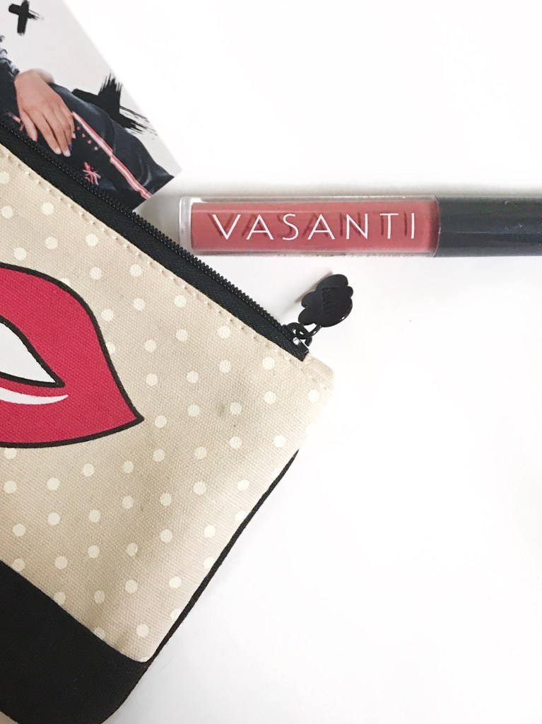 June 2017 Ipsy Glam Bag VASANTI COSMETICS POWER OILS LIP GLOSS in SUPER MOM
