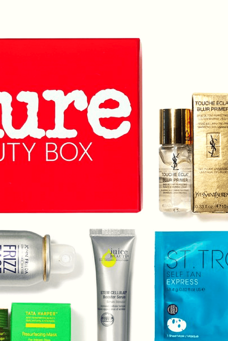 The June 2017 Allure Beauty Box Review