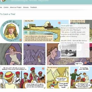 Gertrude Bell Comics