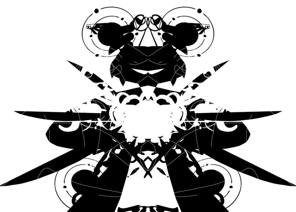 An experimental piece that is perhaps an alien creature.