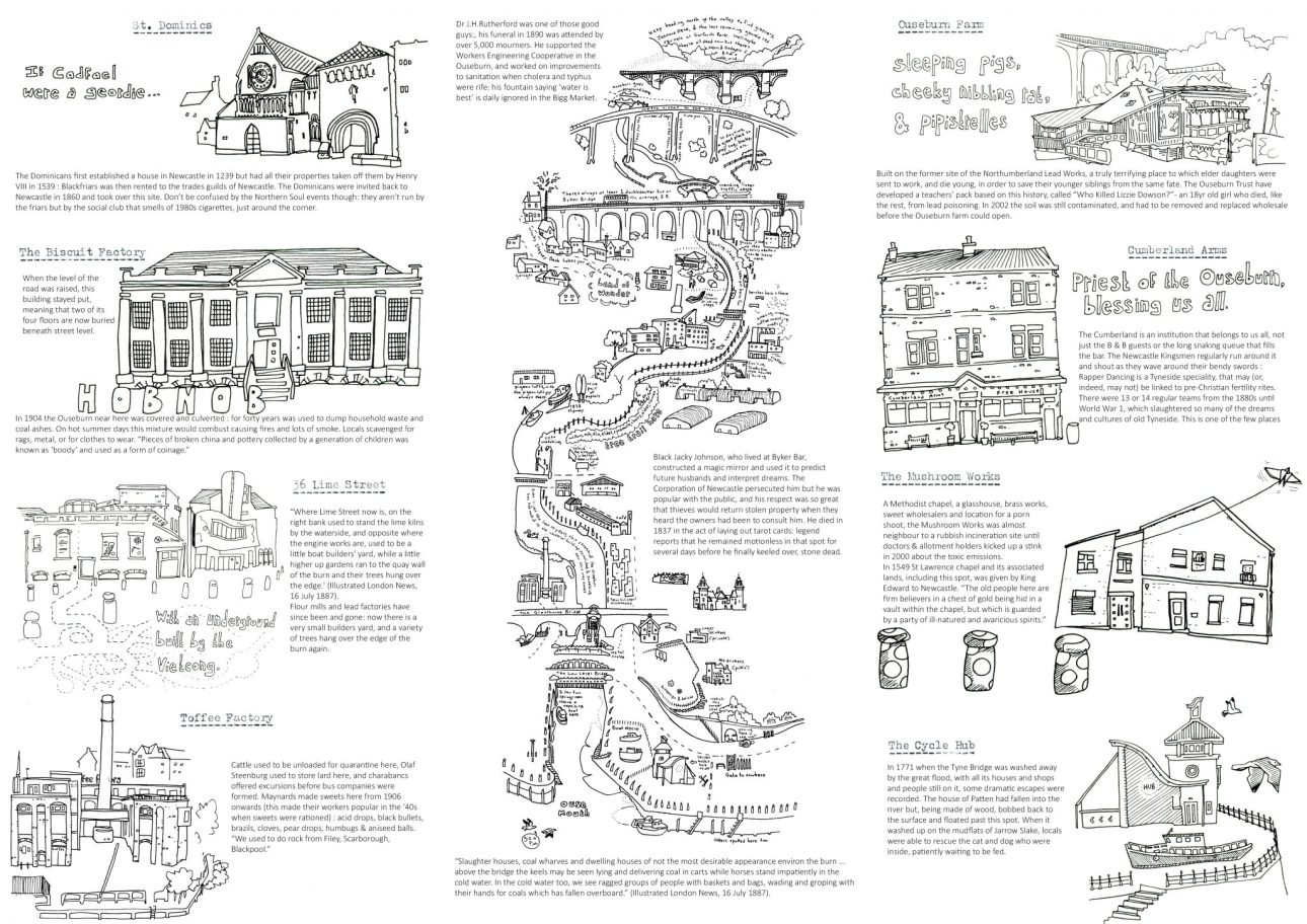 A guide to the Ouseburn venues for the Late Shows by Mike Duckett.